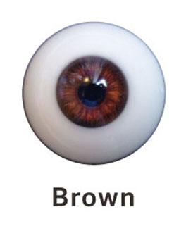Barva očí Irontech Doll - hnědá